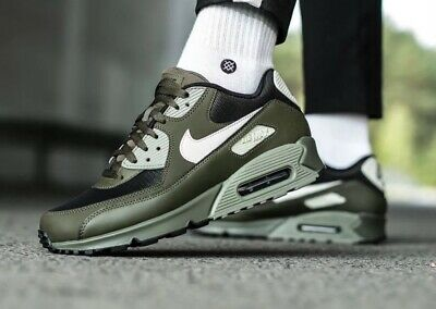 finest selection 3dcef a1bd3 Nike Air Max 90 Essential Khaki Uk Sizes 7-11 537384-309