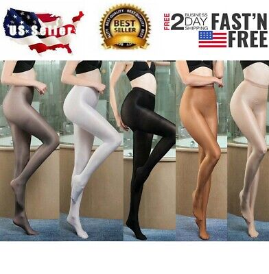 5655ae32f7d Plus Size High Glossy 70D Pantyhose Oil Shiny Stockings Pantyhose Tights  L-XL