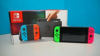 Nintendo Switch Console with Green & Pink Joy-Con (644364)