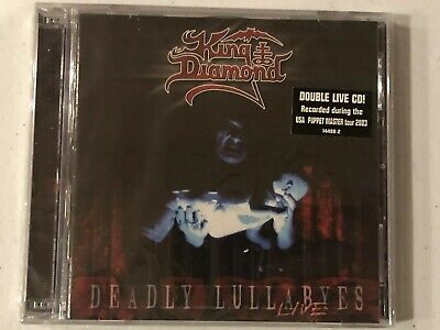 King Diamond - Deadly Lullabyes Live, 2-Cd Set - New & Sealed - Mercyful Fate!