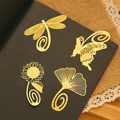 Note Metal Animal Bookmark Novelty Ducument Book Marker Label Stationery EP