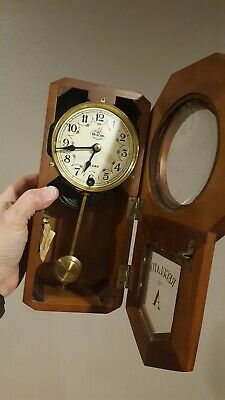 Pendulum 31 Day Wall Clock with Key