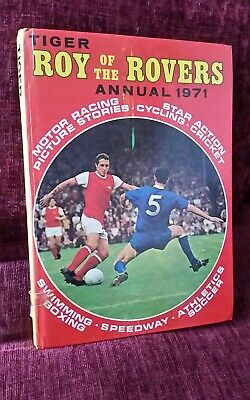 1971 Roy Of The Rovers Annual