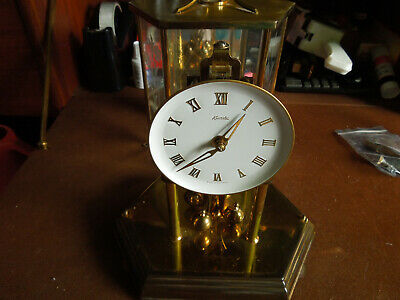 KUNDO ANNIVERSARY SQUARE CLOCK WIND UP (Spares and repairs)