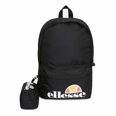ELLESSE ROLBY BACKPACK With Pencil Case Black 3ce7ca71d5468