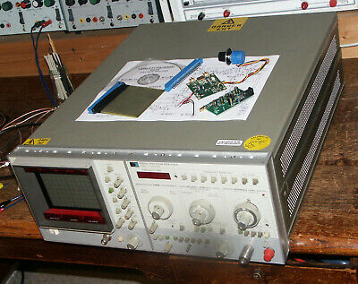 Spectrum analyser and tracking generator