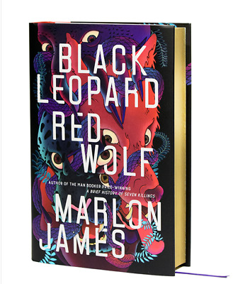 SIGNED Marlon James Black Leopard Red Wolf Limited 1500 Copies 1st Edition RARE