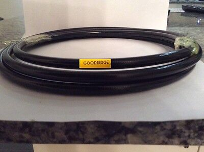 Goodridge braided brake cable with Black PVC covering  15 Metres £40