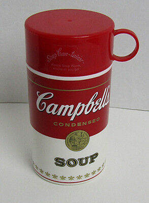 Campbell's Condensed Soup Can-Tainer thermos style 11.5 ounce container with cup
