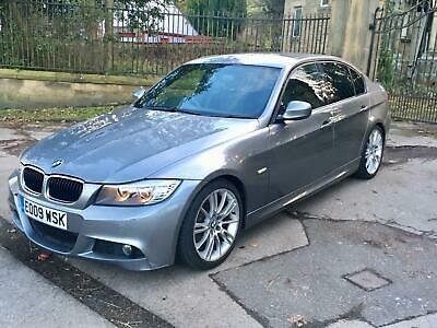 2009 09 BMW 318d M SPORT LCI GREY 9 BMW SERVICE STAMPS 1 OWNER