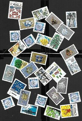 France 2017-2018 : Lot 190 Timbres Differents Avec 10 S.completes
