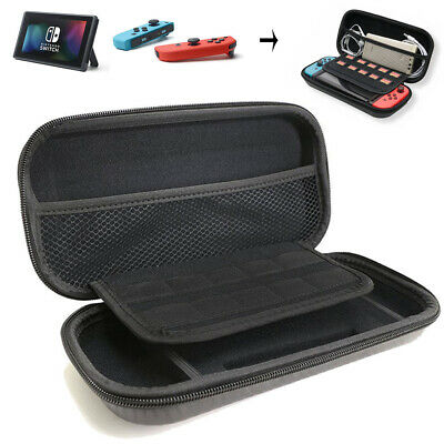 For Nintendo Switch Carrying Case Fiber Hard Shell Portable Pouch Travel Bag US