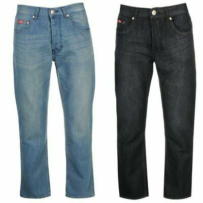 NEW CLASSIC Lee Cooper Regular Jeans Mens