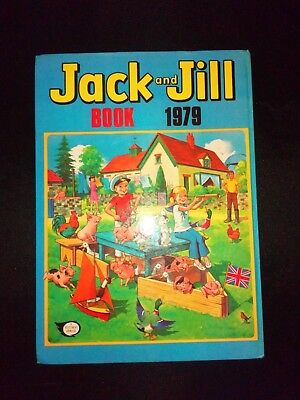 Jack And Jill Annual 1979 Vintage Childrens Hardback Book