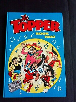 The Topper Annual 1992 Vintage U.K Comic Hardback
