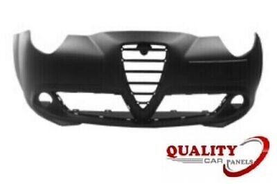FRONT BUMPER WITHOUT HEADLIGHT WASHER HOLES PRIMED NEW ALFA ROMEO MITO 08