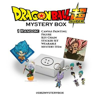 Dragon Ball Super Dbs Dbz Loot Anime Box Mystery Crate Collectible Ur + Art NEW