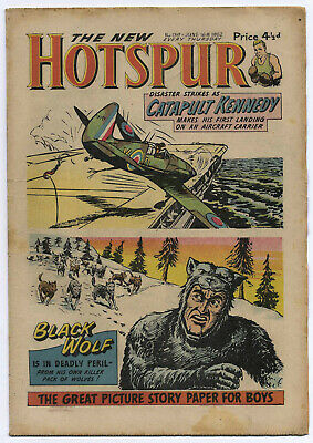 The Hotspur 139 (June 16 1962) very high grade copy