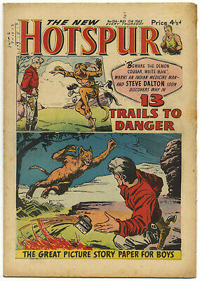 The Hotspur 134 (May 12 1962) high grade copy