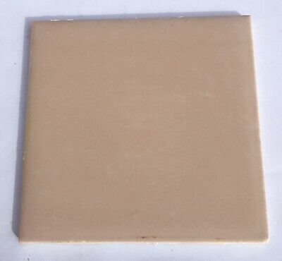 4x4 Vintage Tile in Spice Mocha -1 Sq Ft- Salvaged- 'VICO Amsterdam Corp Japan'