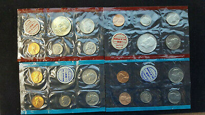 1968 and 1970 P & D Mint Set with Silver Kennedy GEM Uncirculated