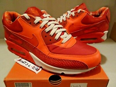 low priced dd91c f0f68 NEW Nike Air Max 90 QK Steve Nash Red Orange Snakeskin PHX Suns 314864-881