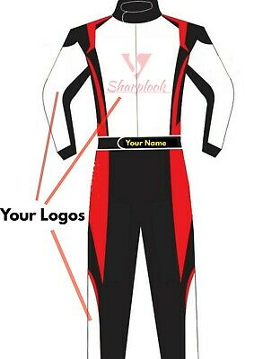 Customized Go Kart Racing Suit Cik Fia Level Ii ( Sublimation Printing )