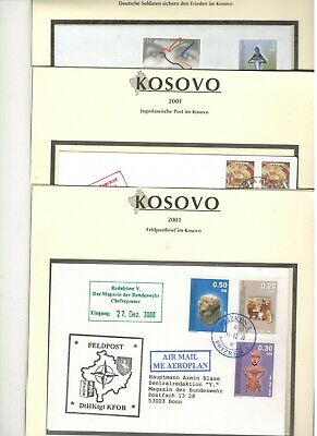 Kosovo - letters from a 3 different Postal administrations !