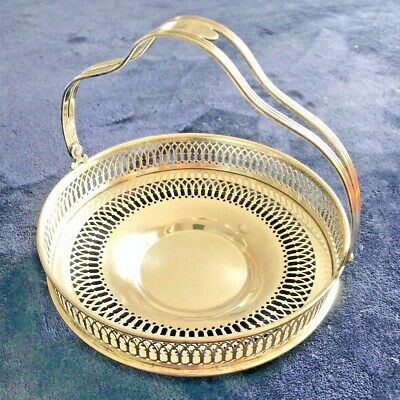 Antique Sterling Silver Basket Monogrammed Patty, by Smith Patterson Company