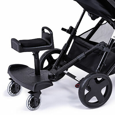 Ride On Board with Saddle Compatible with Kiddicare.com