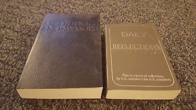 ALCOHOLICS ANONYMOUS :  4th Edition & Daily Reflections