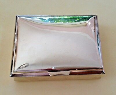 ANTIQUE 384 Gr. STERLING SILVER COLLECTIBLE CIGAR BOX VERY ELEGANT !