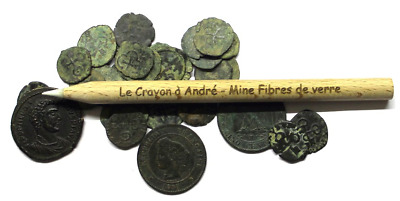 Fiberglass Pencil - Andre's Pencils - Coins and Relics cleaning tool