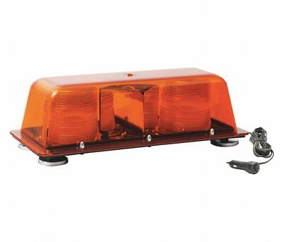 Star Warning 9200SM-A Amber Doubleflash 12-24V Mini-Bar Magnetic Mount