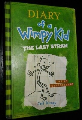 Diary of a Wimpy Kid: The Last Straw Book 3 by Jeff Kinney (2009, Hardcover)