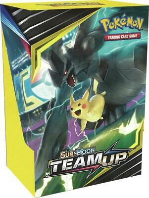 Pokemon Sun & Moon Team UP Build & Battle Prerelease Kit Box EN SM09