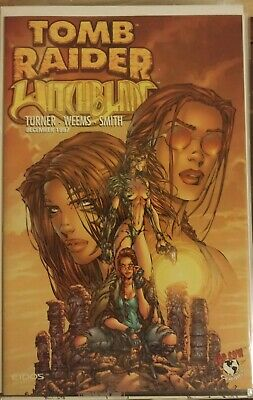 Tomb Raider & Witchblade #1 Michael Turner Cover