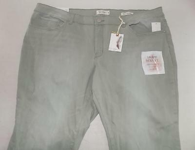 1d20cdc7588 WP9051 Jessica Simpson Womens Plus Forever Rolled Skinny Jeans NWT Size 24W  X 23
