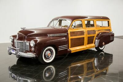 1941 Series 61 Woodie Station Wagon -- eries 61 Woodie Station Wagon 3-speed Manual