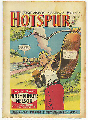 The Hotspur 132 (April 28 1962) high grade copy