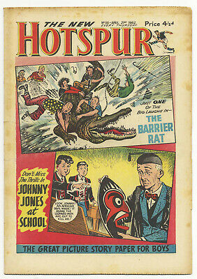 The Hotspur 131 (April 21 1962) high grade copy