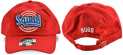 Space Jam Bugs Bunny Tune Squad Basketball Movie Hat Adjust Dad Cap Looney Tunes