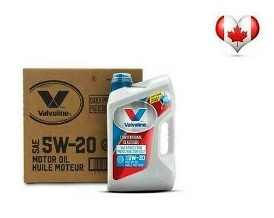 Valvoline Daily Protection Motor Oil (3X 5L) Case Packs 5W20, 5W30 Or 10W30