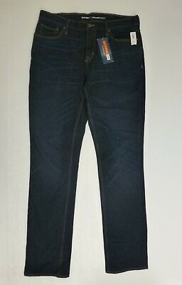 d8bd8a8b Old Navy Mens Sz 34X36 Dark Blue Straight Built-In Flex 360 Jeans New With