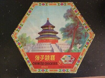 Chinese Checkers Game Marbles Original Authentic
