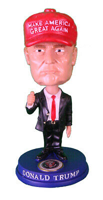 "President Donald Trump 2020 51/2"" Tall Bobble Head Bobblehead Nodder MAGA"