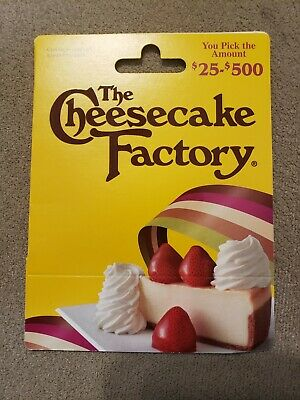 New THE CHEESECAKE FACTORY Gift Card - $25 value