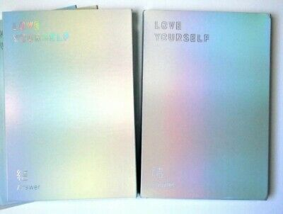 BTS Love Yourself Answer S & F album versions set - used (No PC) *Free Gift*