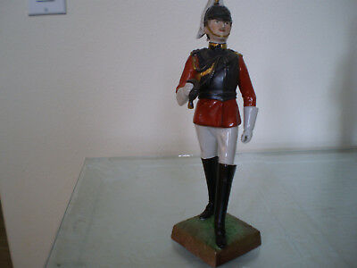 First Life Guards- - Dresden, Carl Thieme porcelain soldier(sword is missing)