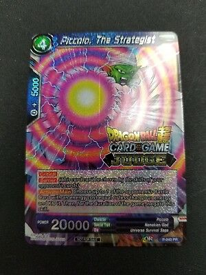 Piccolo, The Strategist Judge Foil Promo P-040 PR Dragon Ball Super TCG Card